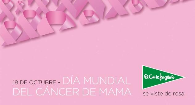 El 19 de octubre, Día Mundial del Cáncer de mama
