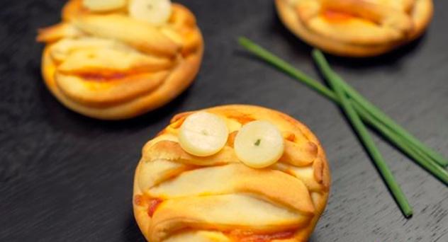 Momias de pizza sin gluten
