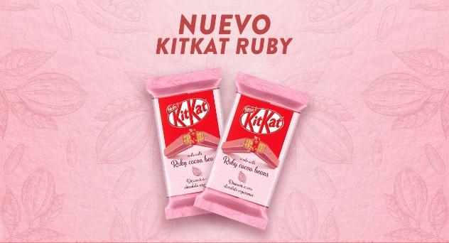 ¡Ya está aquí el delicioso Kit Kat Ruby!