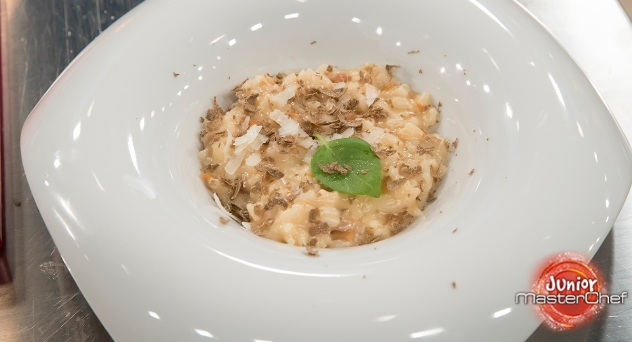 MasterChef Junior 6: Arroz con citronela y bacon