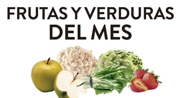 Frutas y verduras del mes Enero 2019
