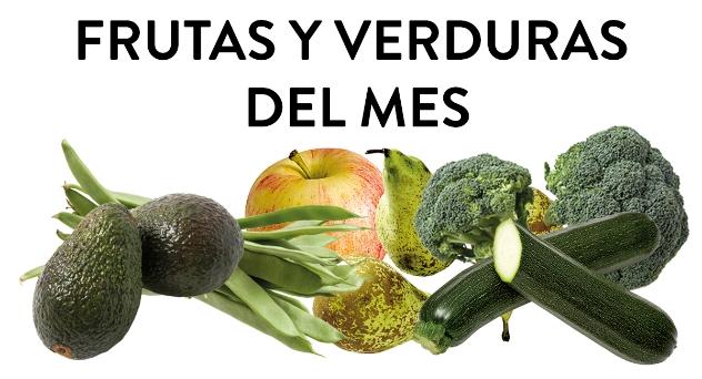 Frutas y verduras del mes de enero 2019