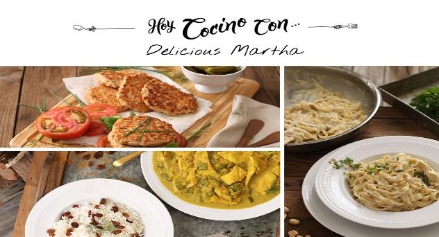 Hoy cocino con Delicious Martha