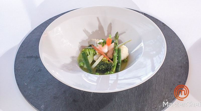 Masterchef 7: Menestra de verduras