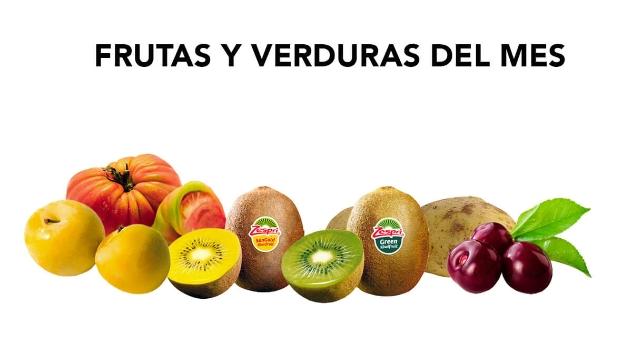 Frutas y verduras del mes de Junio 2019