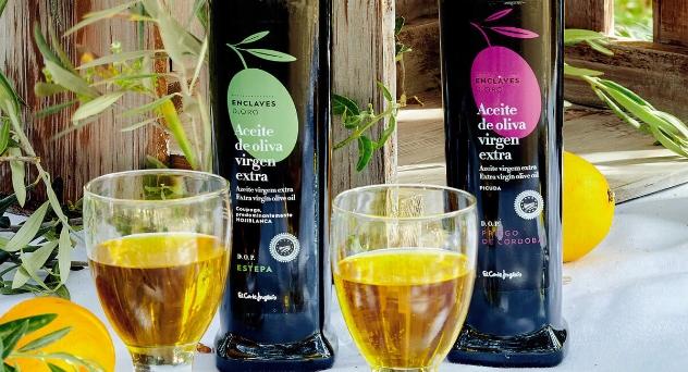 Aceite de oliva virgen extra, enclaves de oro