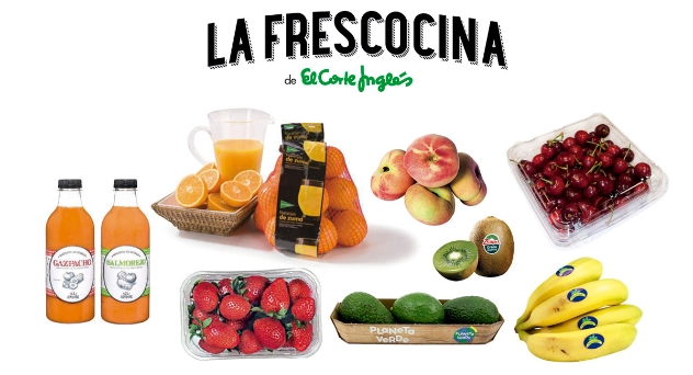 La Frescocina de El Corte Inglés, especial frutería