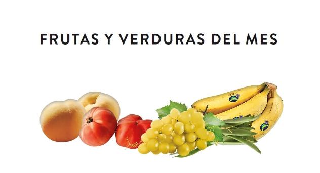 Frutas y verduras del mes de Septiembre 2019