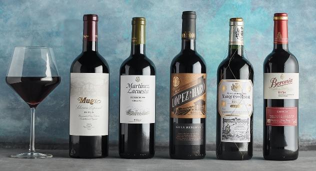 Vinos tintos de Rioja