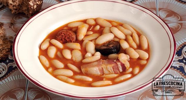 Fabada asturiana, exquisita