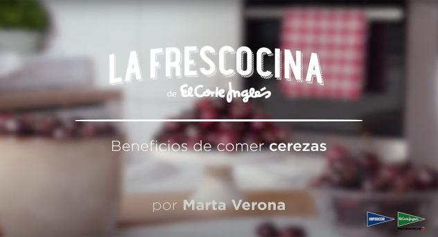 Beneficios de comer cerezas por Marta Verona