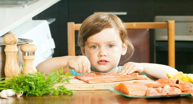 El pescado en la alimentación infantil ¿qué beneficios tiene?