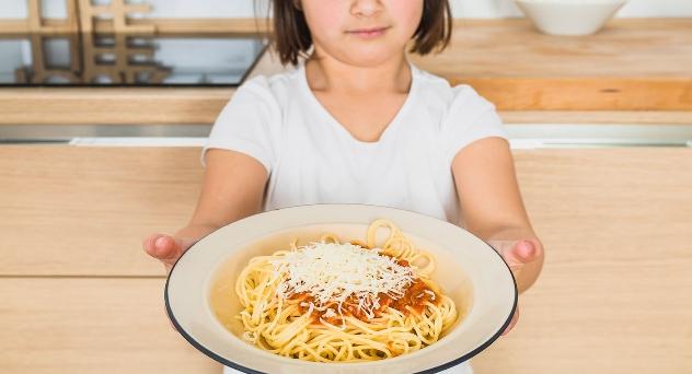La ración adecuada de comida en función de la edad del niño