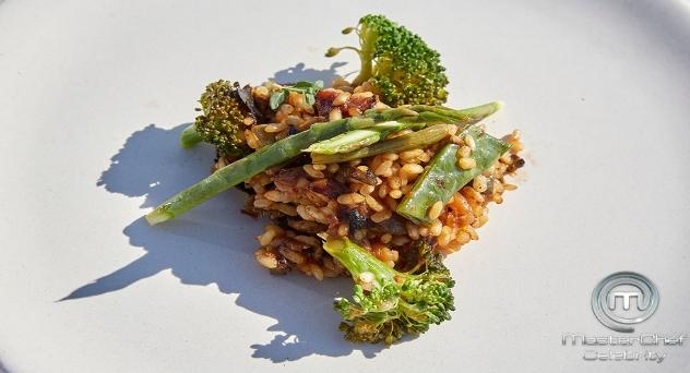Masterchef Celebrity 5: Arroz seco de pollo y verduras