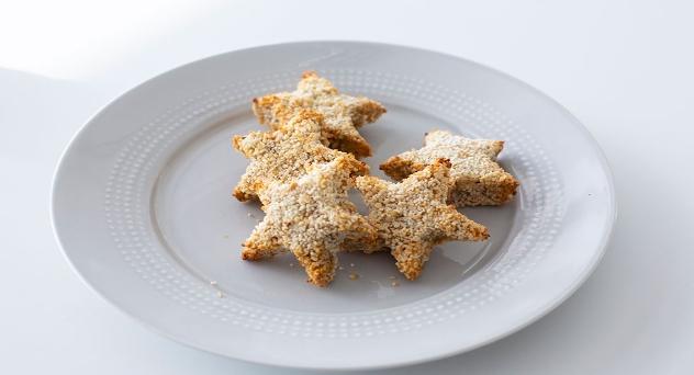 Nuggets de verdura, ¡con forma de estrella!