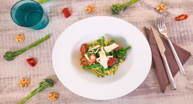 Espaguetis de calabacín con Bimi®