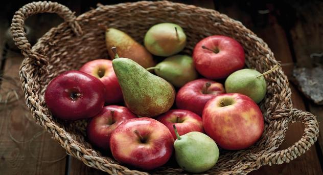 Manzanas y peras especiales, sabores de invierno
