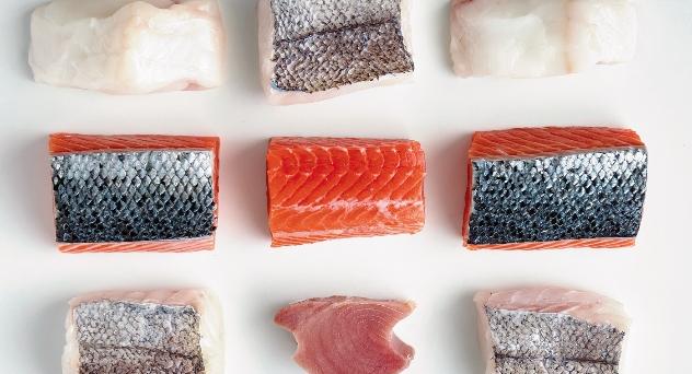 Pescado congelados, calidad suprema