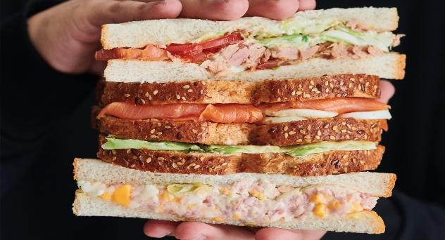 Sándwiches, con cariño